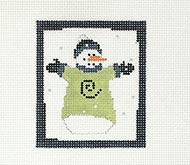 Year of Pippin: Snowman